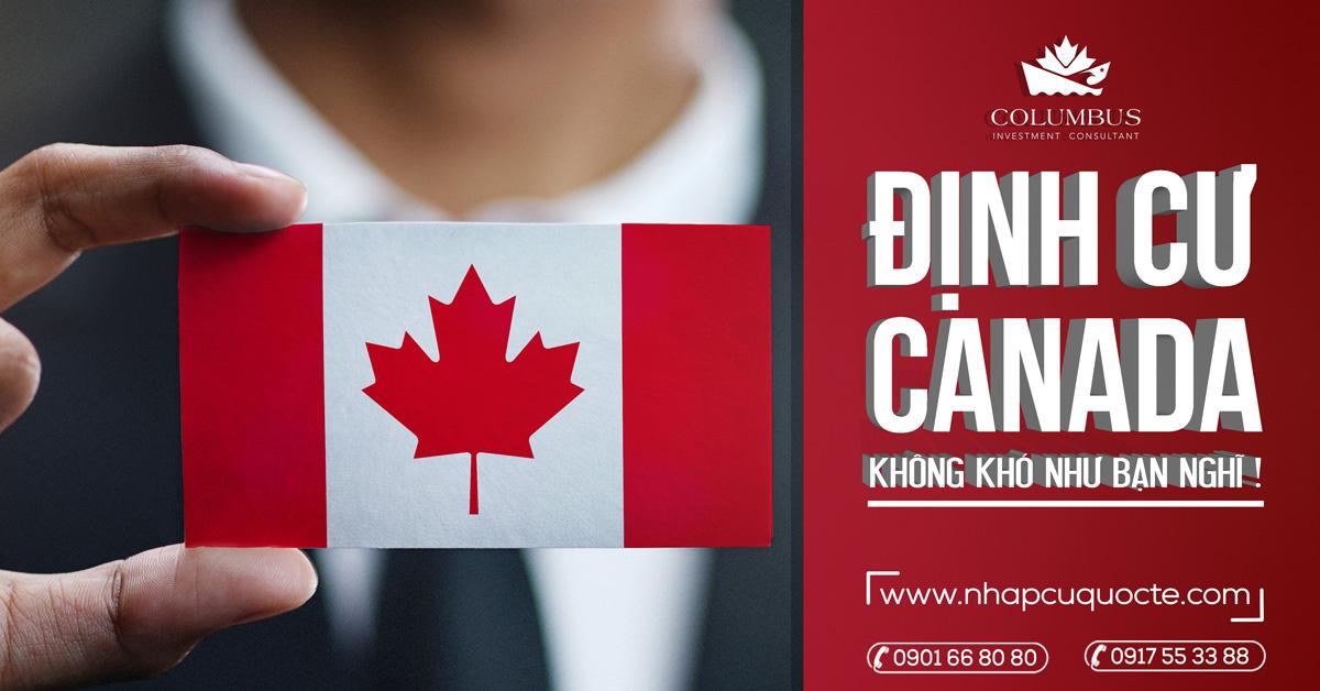 Định cư Canada dễ hay khó ?